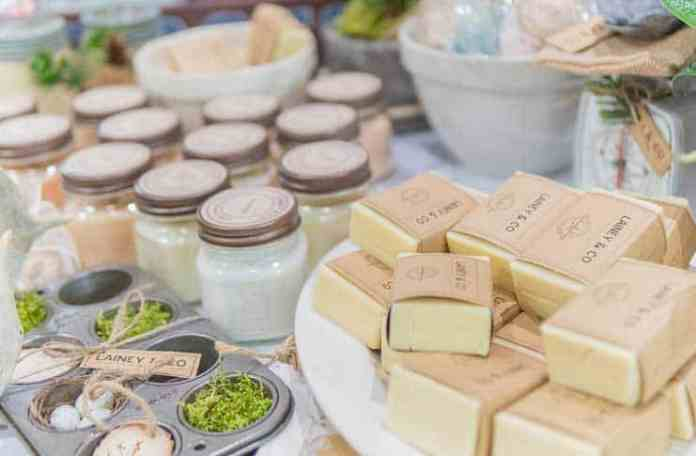 Make your own bath and body products