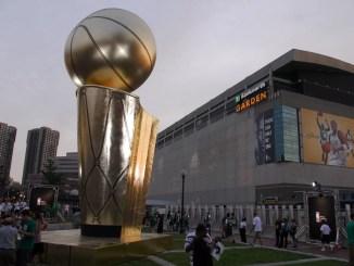 TD Gardens, NBA Finals 2008