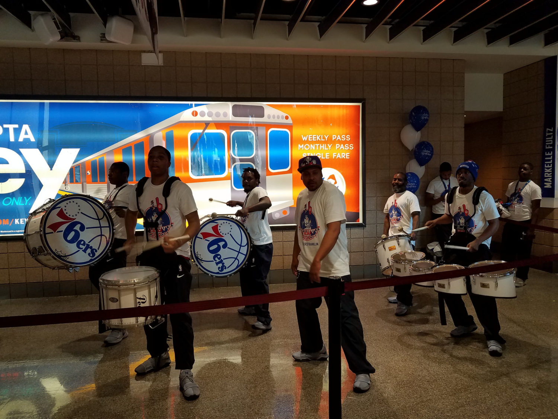 Sixers drummers