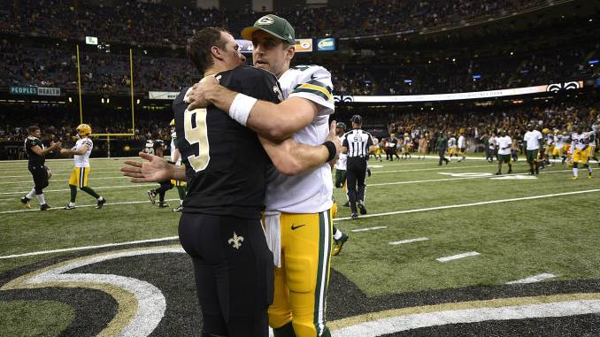 Brees and Rodgers
