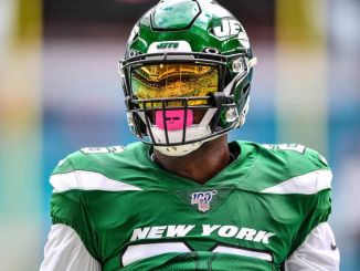 Le'Veon Bell in action for the Jets