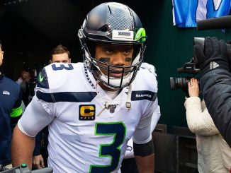 Russell Wilson pre game