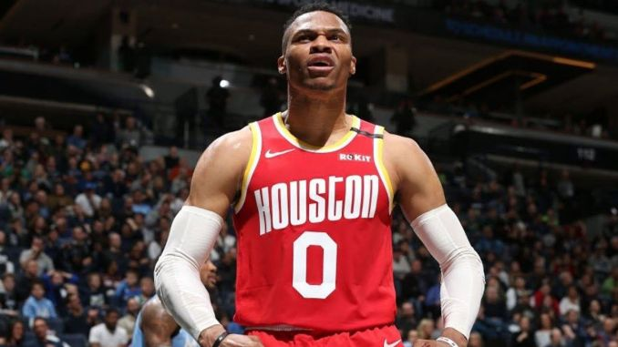 Westbrook for the Rockets