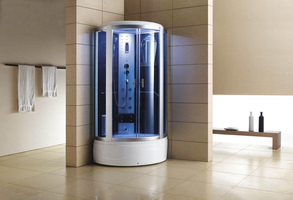 cabine de douche hydromassante avec hammam et baignoire at 002 1