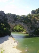 Le Pont d´Arc, caminando o en canoa