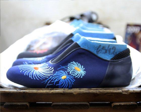"""Sylvie Geronimi presentó en París """"El arte del calzado"""""""