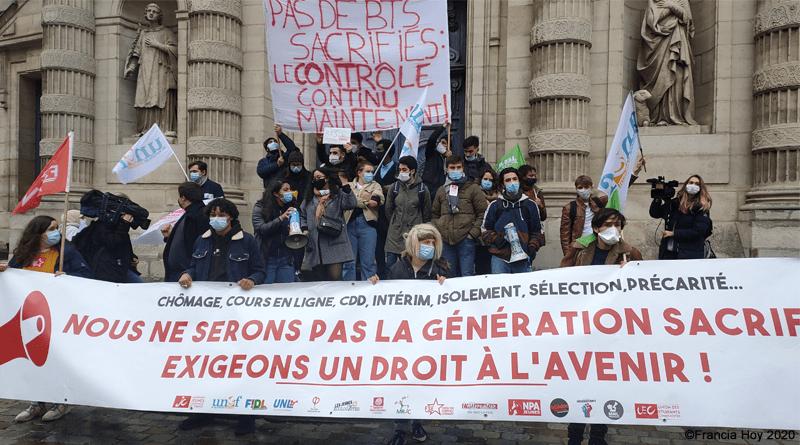 Precariedad-estudiantil-nueva-manifestación-en-Francia