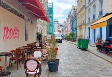 En París, las terrazas efímeras se convertirán en terrazas estivales. © Francia Hoy