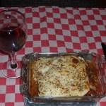 Vegetarische lasagne van coolwrap