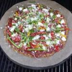 Bloemkoolpizza in wording