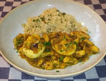 Bloemkoolrijst met curry