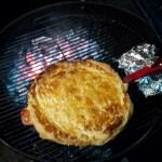 Kippastei met ham en prei