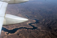 HIGH ABOVE THE LITTLE COLORADO RIVER