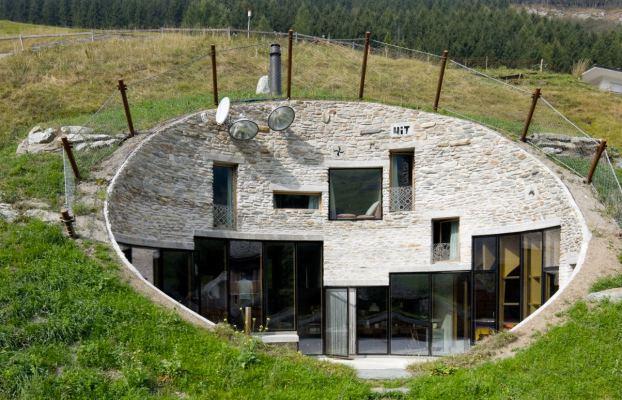 casa hobbit moderna