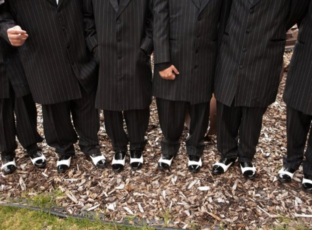 black-and-white-wingtip-groomsmen-shoes