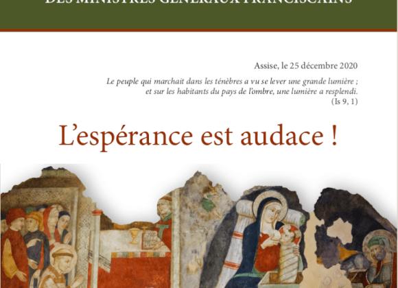 Lettre de Noël des Ministres Généraux Franciscains
