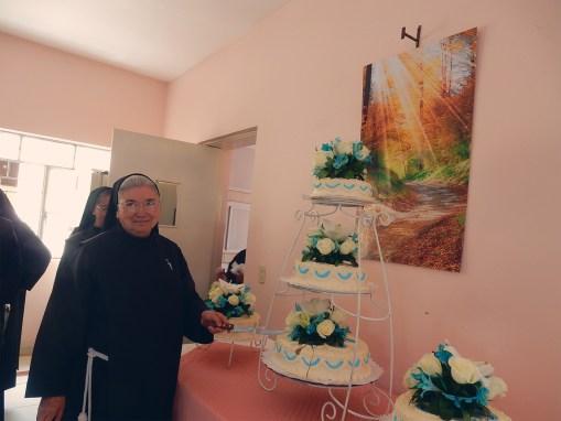 Cumpleaños de la Madre Belén García
