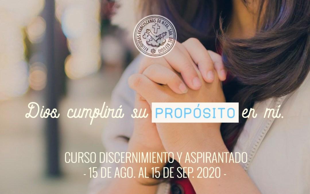 Curso Discernimiento y Aspirantado 2020