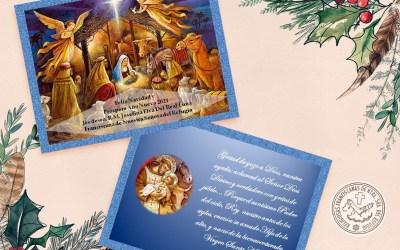 Recibe nuestra postal virtual de Navidad