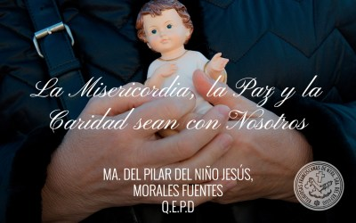Madre Ma. del Pilar Morales Fuentes descansa en Paz