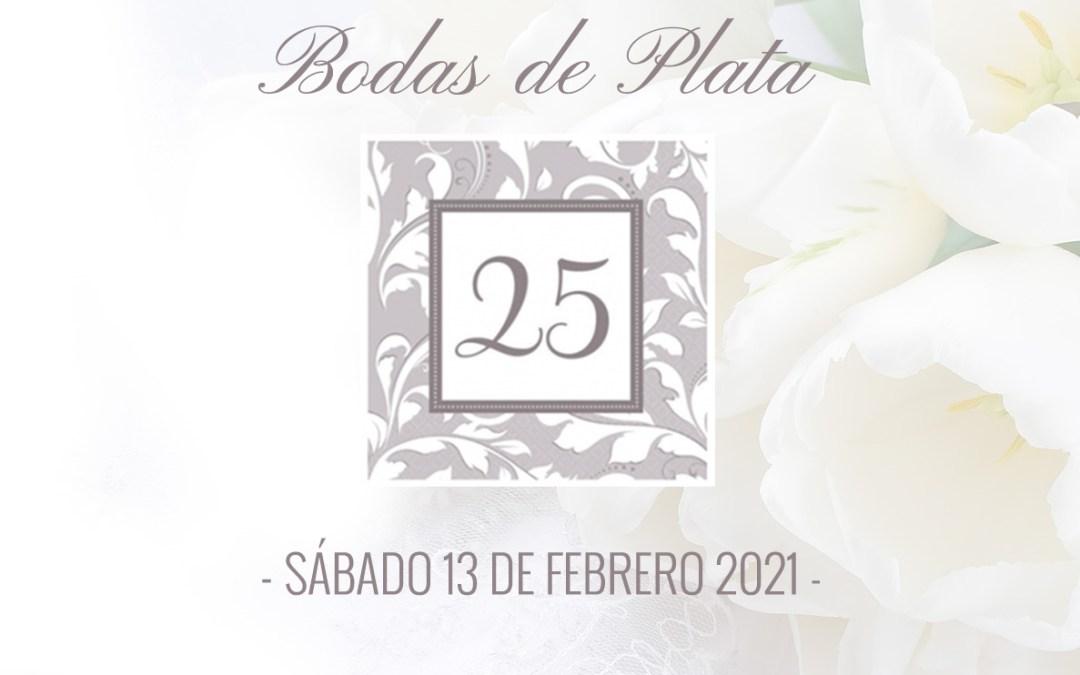Bodas de Plata 2021