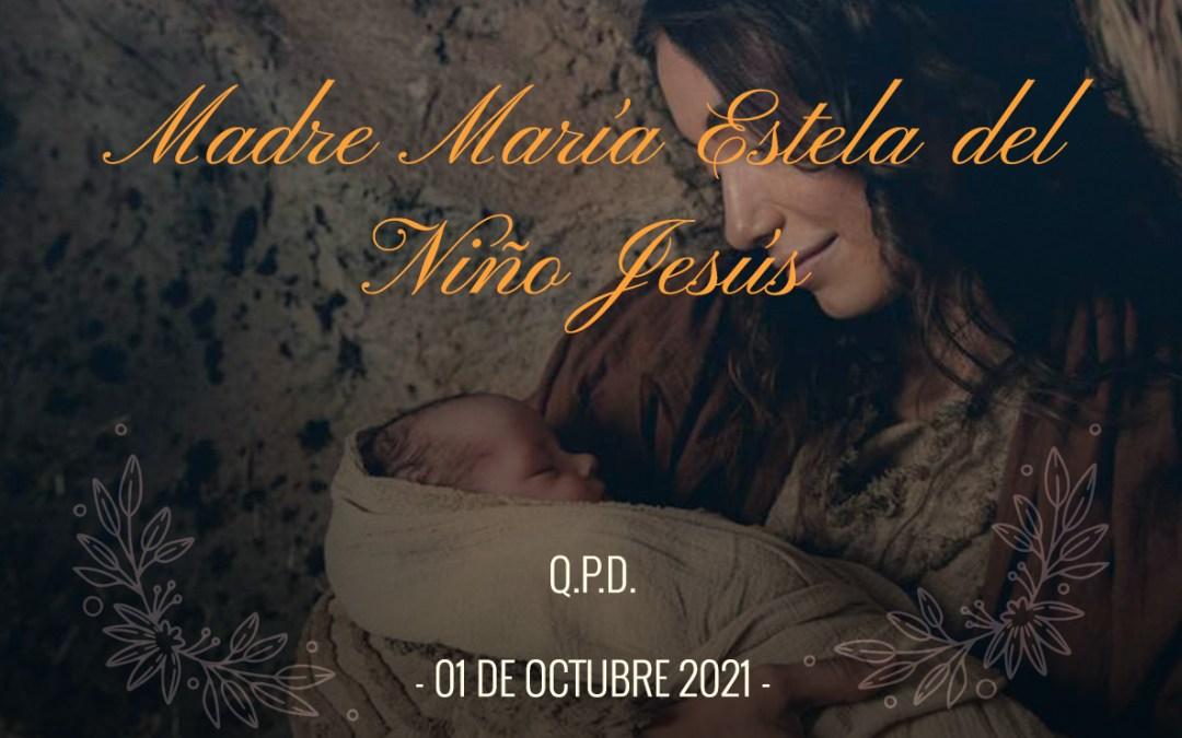 Descanse en Paz Madre Ma. Estela