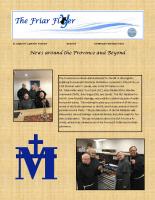 Friar Flyer – Early Fall – 2016