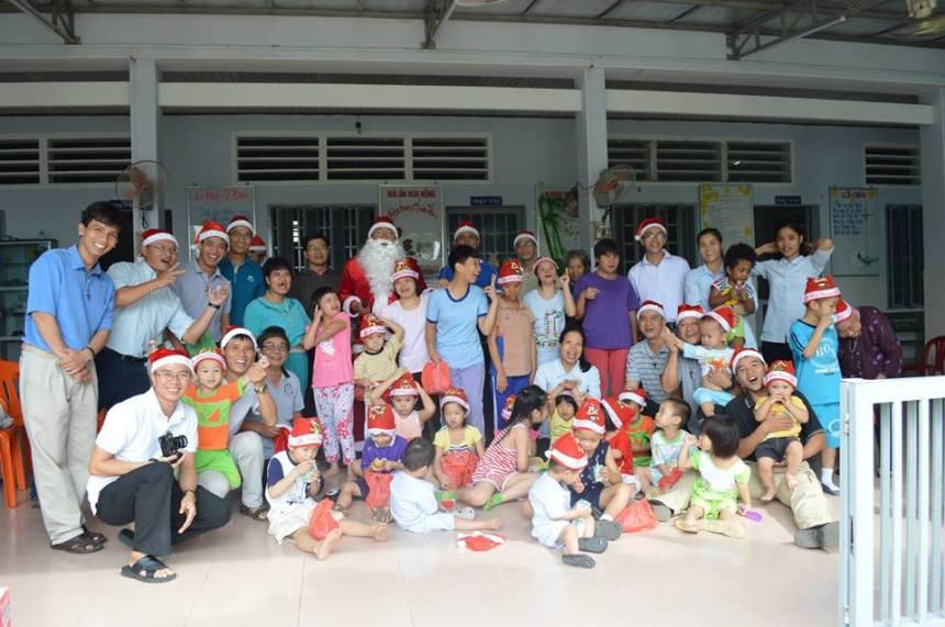 Orphanage near Saigon