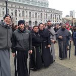 "Friars at the ""Walk for Life"" in San Francisco"