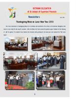 Vietnam Delegation – Newsletter – February 22, 2019