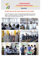 Vietnam Delegation – Newsletter 0ctober 2019
