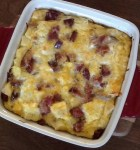 Easter ham and cheese bake