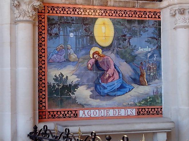 """""""Bruley chapelle du Rosaire Gethsémani"""" by Utilisateur:Djampa - User:Djampa - Own work. Licensed under GFDL via Wikimedia Commons."""
