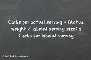 Diabetic algebra