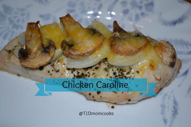 chicken caroline T C