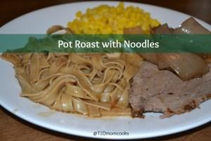 pot roast with noodles TC