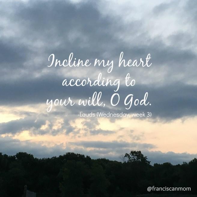 Incline My Heart