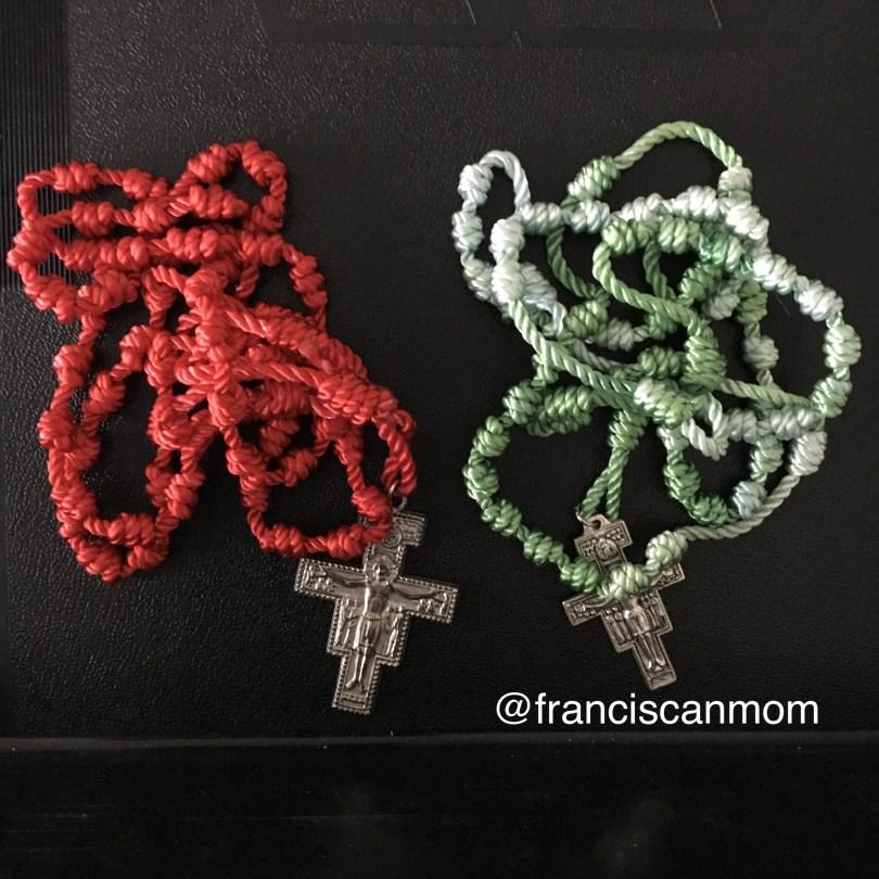 """""""Pocket Rosaries"""" by Barb Szyszkiewicz (Franciscanmom.com)"""