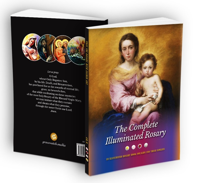 complete illuminated rosary