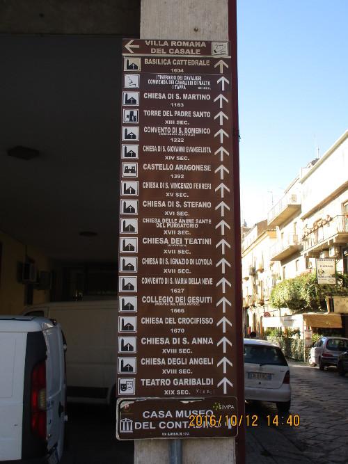 Many churches, Piazza Armerina