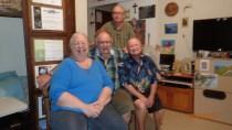 Sr Agnes, Brs Luke Simeon and Andrew