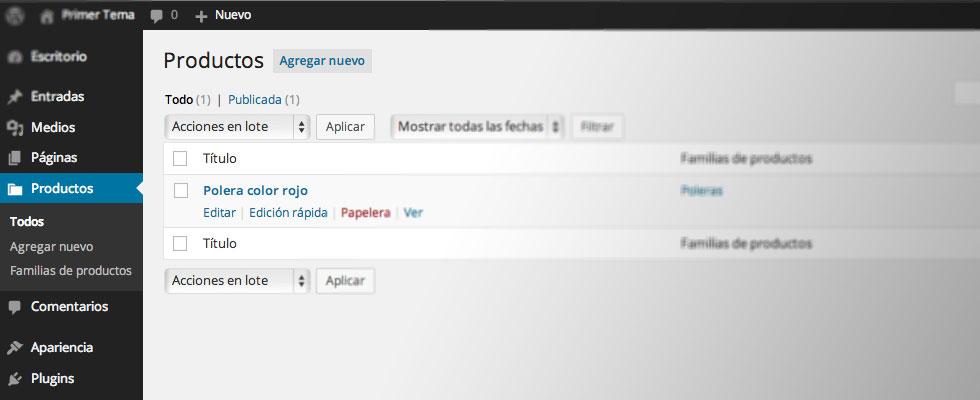 Crear un catálogo de productos en WordPress (sin carrito de compras ...