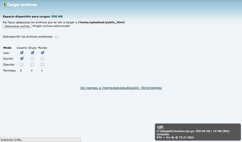 trasladar sitio en WordPress 5