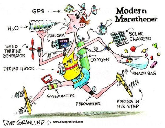 modern runner