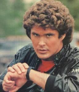 Michael Knight, precursor en materia de smartwatches