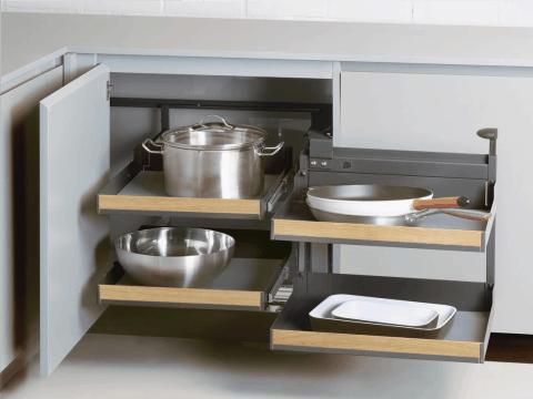 Esquina en la cocinas
