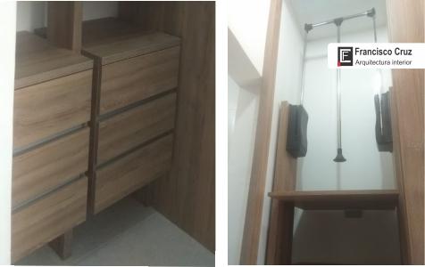 Pequeños closets modernos