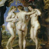 La Medicina en el Arte: Pintura - Las tres Gracias y una con artritis