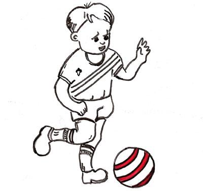 Jugando con el balon
