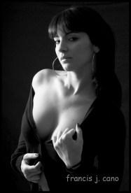 Mariana, retrato en estudio